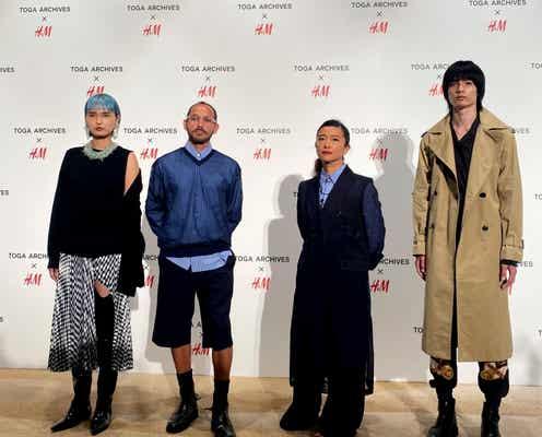 H&M 「トーガ」との協業コレクション