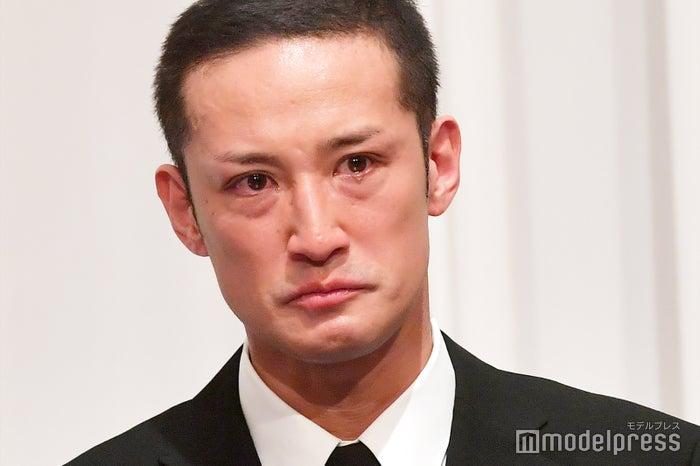 涙を流したTOKIO松岡昌宏