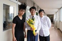 (左から)伊藤健太郎、じろう、賀来賢人(C)日本テレビ
