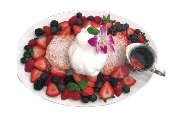 ベリーベリーパンケーキ/画像提供:ハナフル