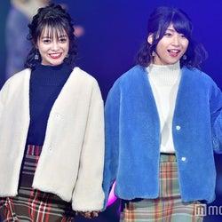 STU48田中皓子&藤原あずさ、グループから唯一の抜擢 双子コーデでランウェイ<TGC広島2017>