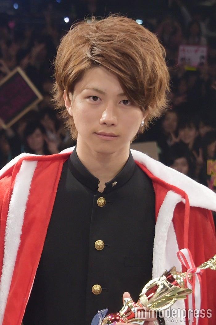 「男子高生ミスターコン2015‐2016」グランプリに輝いた若槙太志郎くん(C)モデルプレス