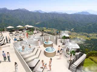 「白馬マウンテンビーチ」標高1,400mの絶景山岳リゾート空間が誕生