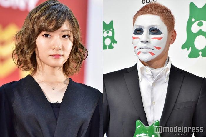 (左から)生駒里奈、樽美酒研二 (C)モデルプレス
