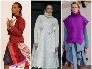 21~22年秋冬パリ・コレクション 無機質な空間で服を際立たせる