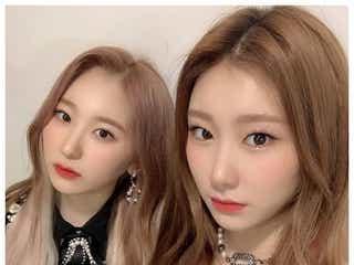 IZ*ONEチェヨン&ITZYチェリョン、姉妹2ショット公開「本当にそっくり」の声