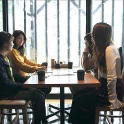 安未と友人「TERRACE HOUSE OPENING NEW DOORS」7th WEEK(C)フジテレビ/イースト・エンタテインメント