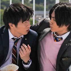 屋上のシーン。「春田さんのこと友達だと思ってる」とマロらしい愛情表現があった(C)テレビ朝日