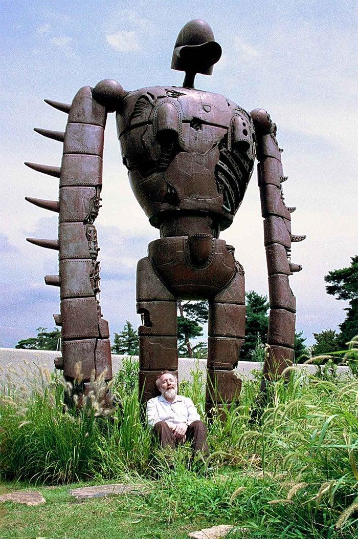 「天空の城ラピュタ」に登場するロボット兵/画像提供:三鷹の森ジブリ美術館(C)Museo d'Arte Ghibli