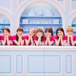 NiziU、デビュー後CM初メンバー9人集結 一糸乱れぬダンスを披露