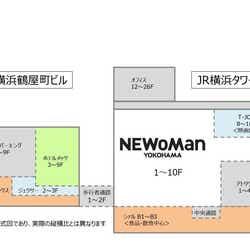 ニュウマン横浜/画像提供:ルミネ