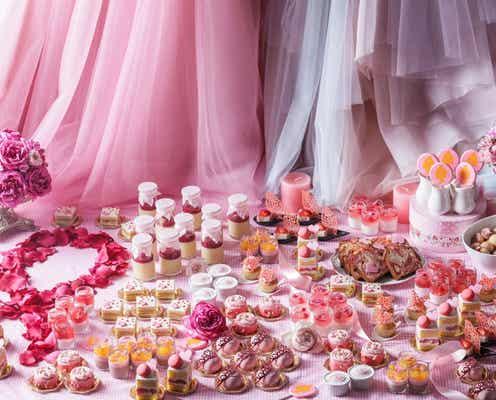 ピンク尽くしのデザートブッフェ「STRINGS PINK DESSERT BUFFET」ストリングスホテル名古屋で開催