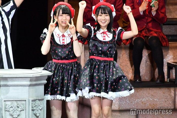 AKB48多田京加、HKT48松田祐実 (C)モデルプレス