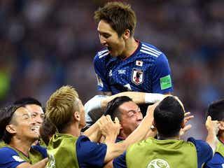 サッカーW杯日本×ベルギー戦、視聴率発表 平日未明とは思えぬ驚異的数字を記録