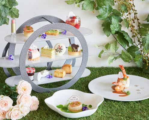 ヒルトン東京お台場「サロンドテ <ポール&ジョー>」パリの香り漂う菓子と紅茶を堪能