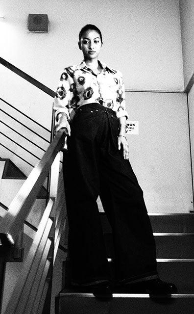 久貝和子(WAKO)/画像提供:所属事務所(PHOTO BY TAKUMI SAITOH)俳優のみならず、白黒写真家としても活動中。パリ・ルーヴルでのアート展『Salon des Beaux Arts 2018』にて写真作品『守破離』が銅賞を受賞。
