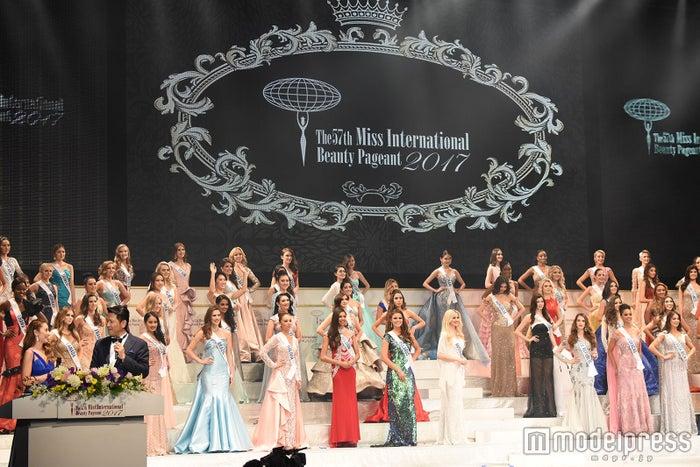 「2017年ミス・インターナショナル世界大会」(C)モデルプレス