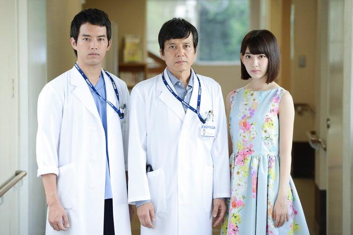 米倉涼子主演「ドクターX」初のスピンオフ誕生(左から)三浦貴大、勝村政信、宮脇咲良(C)テレビ朝日