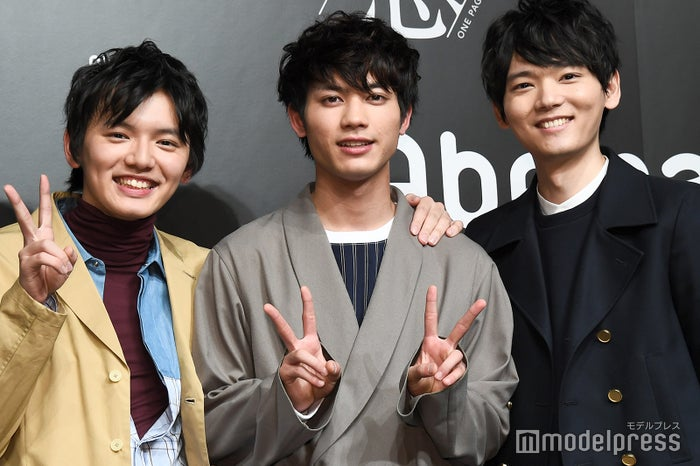 濱田龍臣、板垣瑞生、古川雄輝 (C)モデルプレス