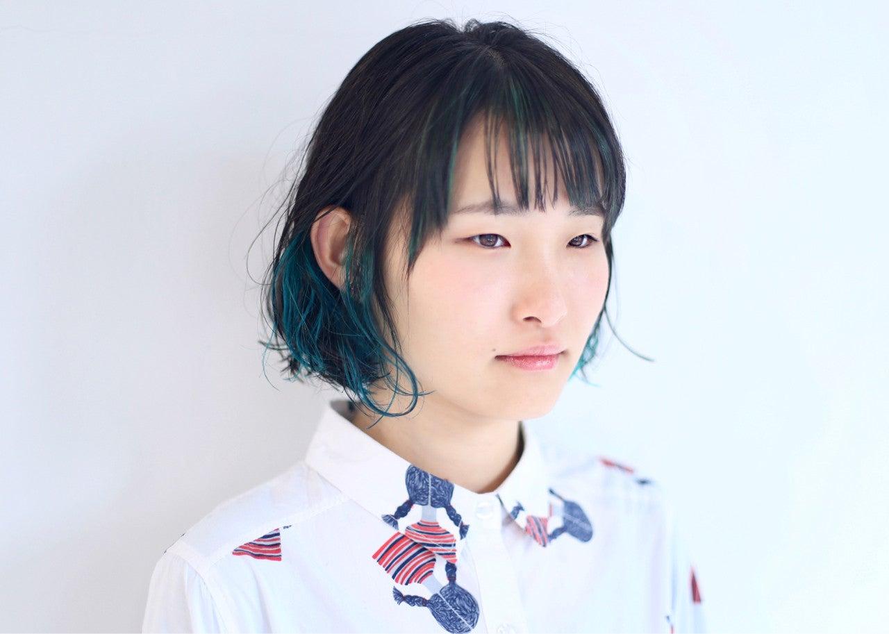"""ショート・ボブだから可愛い♡""""インナーカラー""""でオシャ見え狙う"""