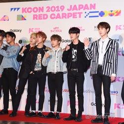 PENTAGON「KCON 2019 JAPAN」レッドカーペットに登場