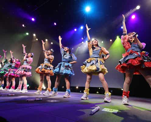 九州発のアイドルグループ・LinQ、ツアーファイナル開催「コロナ禍でもこんなにも楽しいライブができる事を証明できた」