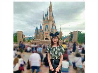 闘病中の池江璃花子選手、ディズニーランドで笑顔ショット「ずっと行きたかった」