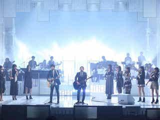 ゆず×E-girls×リトグリの豪華コラボも 「MUSIC FAIR」記念コンサートでスペシャルステージ