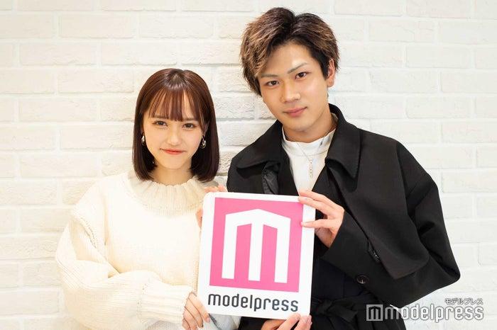 西綾乃、三島啓史 (C)モデルプレス