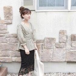 女度アップ♡ 春デートにプラスしたい4つの「透け服」レディコーデ