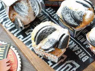 ホットケーキミックスで簡単!カボチャとオレオのハロウィンカップケーキ