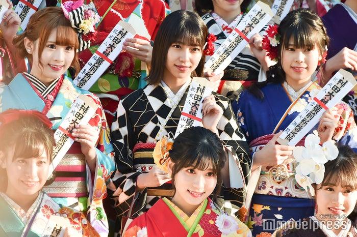 武井紗良、山下エミリー、吉川七瀬/AKB48グループ成人式記念撮影会 (C)モデルプレス