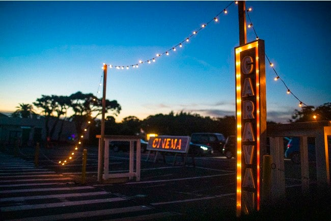 CINEMA CARAVAN DRIVE-IN THEATER with KEIKYU/画像提供:逗子海岸映画祭実行委員会