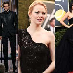モデルプレス - ゴールデン・グローブ賞、黒ドレスでセクハラに抗議 エマ・ワトソン、ケンダル・ジェンナーら集結