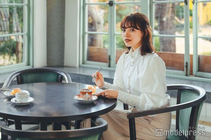 藤田記念庭園にある洋館の一角が「大正浪漫喫茶室」 (C)モデルプレス