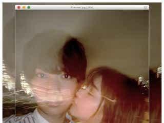 なちょす、恋人・那須泰斗の頬にキス「泰斗を選んでよかった」