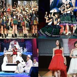 """モデルプレス - AKB48紅白対抗歌合戦""""さし坂46""""結成、小嶋陽菜「大事故」、伝説ユニット復活…155人出演で2000人熱狂<セットリスト/写真特集>"""