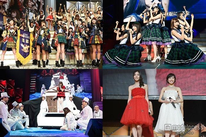 "AKB48紅白対抗歌合""さし坂46""結成、小嶋陽菜「大事故」、伝説ユニット復活…155人出演で2000人熱狂<セットリスト/写真特集>(C)AKS【モデルプレス】"