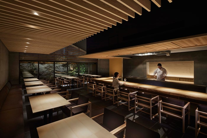 和食レストラン「夏下冬上」(かかとうじょう) ONSEN RYOKAN 由縁 新宿/画像提供:UDS