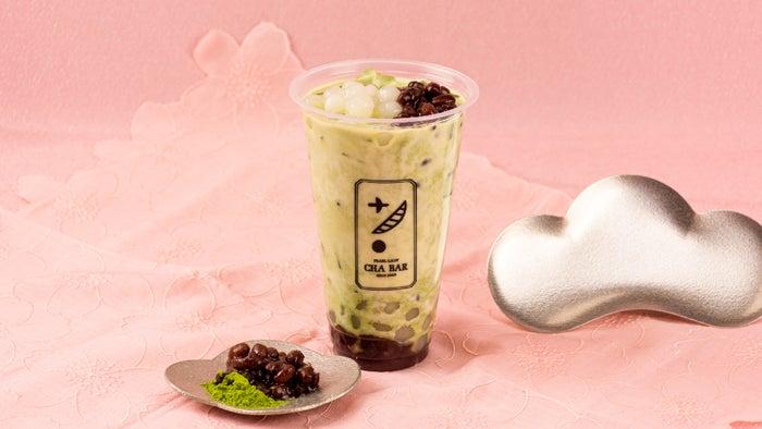 抹茶あずきミルク440円/画像提供:ネットタワー