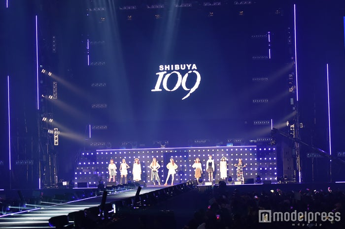 「SHIBUYA109 SPRING COLLECTION STAGE」(C)モデルプレス