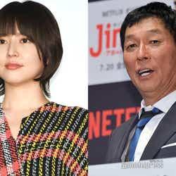 (左から)長澤まさみ、明石家さんま (C)モデルプレス
