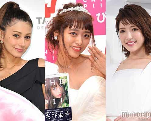 第1子妊娠発表の近藤千尋に祝福殺到 ダレノガレ明美、くみっきーらコメント