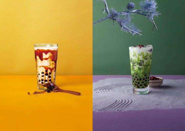沖縄黒糖ミルク490円、宇治抹茶ミルク630円/画像提供:オペレーションファクトリー