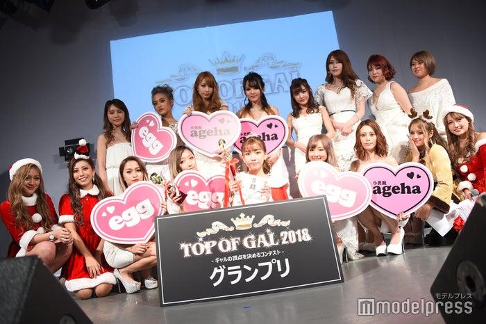 「TOP OF GAL 2018」ファイナリスト&審査員(C)モデルプレス