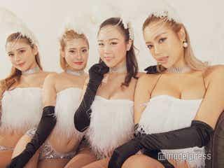 CYBERJAPAN DANCERSの私物メイクポーチ公開 「これだけは欠かせない」コスメは?人気急上昇中のJUNON・MIRIN・HARUKA・RIOを直撃