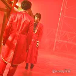 榊原徹士、藤井菜央/吉本坂46RED「君の唇を離さない」MV撮影風景(C)モデルプレス