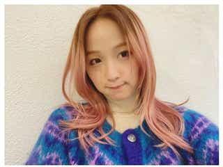 "Dream Ami、ピンク×ブラウンの""アポロヘア""に反響「可愛すぎ」「斬新」"