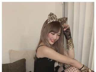 伊藤桃々、SEXY猫コスプレにファン悶絶「可愛すぎ」「飼いたい」