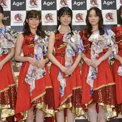 (左から)早川聖来、掛橋沙耶香、筒井あやめ、田村真佑、清宮レイ (C)モデルプレス